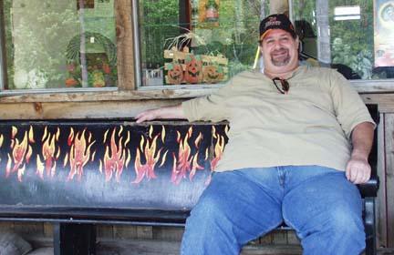 Blaze Bench - Hell, MI