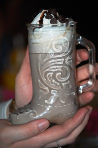 Hot Chocolate in Boot Mug
