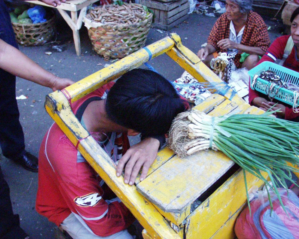 Sleeping Boy - Cebu