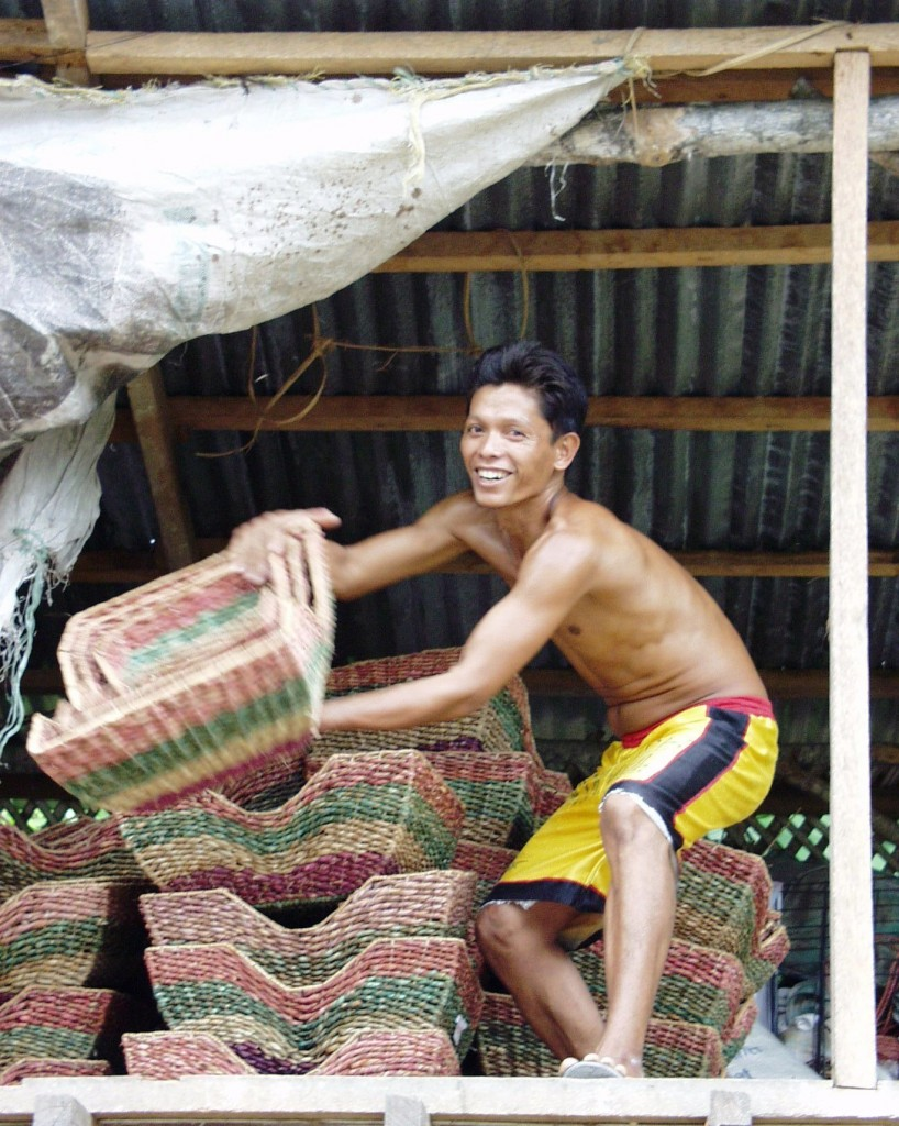 Basket Vendor - Cebu