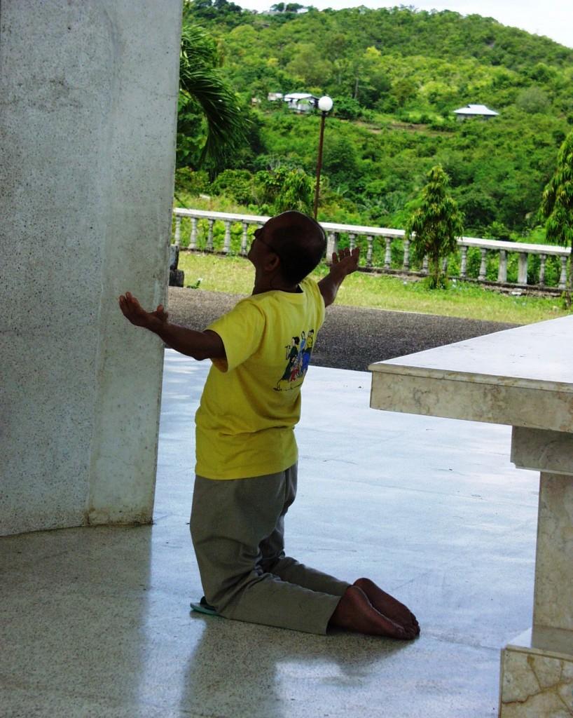 Praying - Cebu