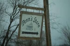 Penn's Store Sign