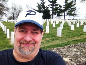 Sumoflam visits the National Cemetery