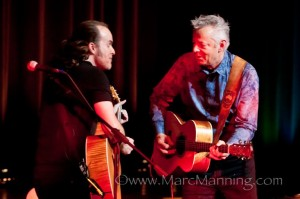 Tommy Emmanuel and Michael Kelsey - photo courtesy of Marc Manning