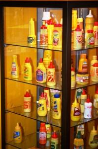 Mustard Display - Plastic Bottles
