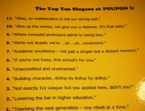 Top Ten Reasons