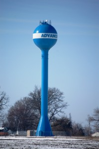 Advance Water Tower