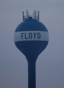 Floyd Water Tower