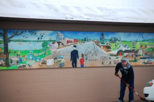 Mural in Ashby, MN