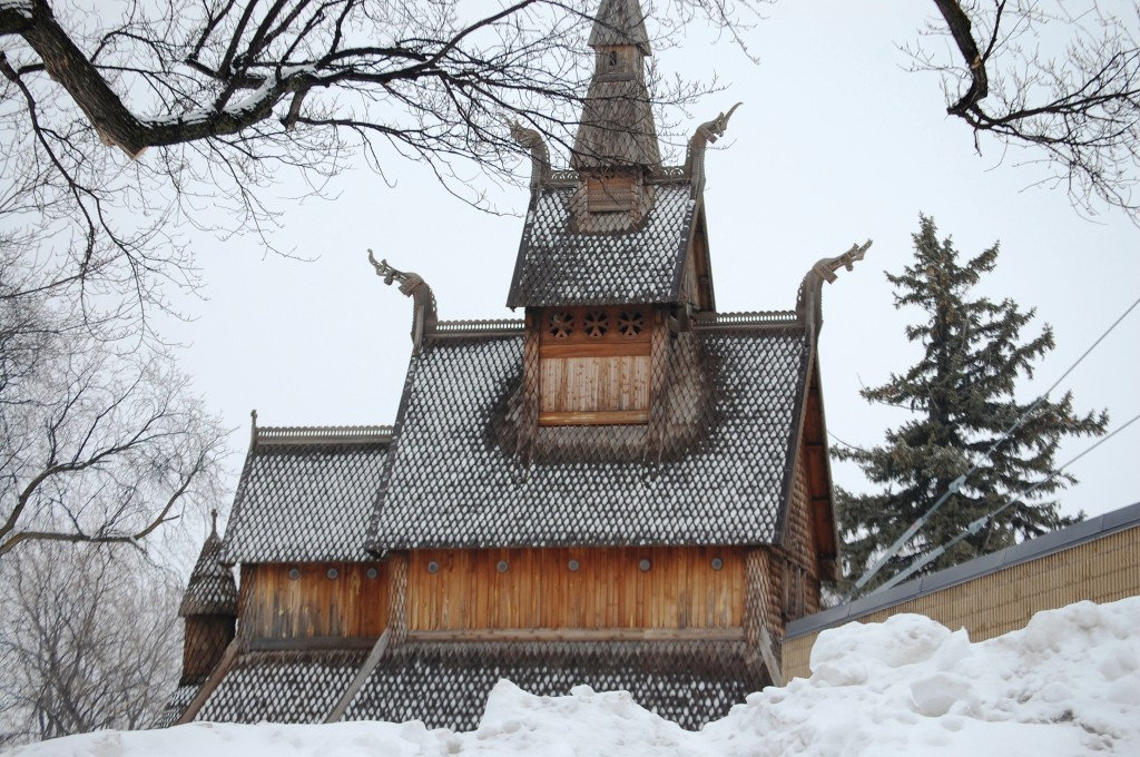 Stave Church Replica - Moorhead, MN