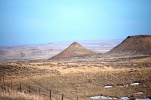 Landscape approaching Jordan