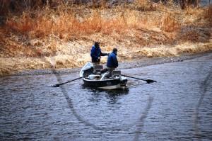 Fishing on the Missouri