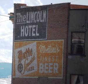 Lincoln Hotel Advertisement