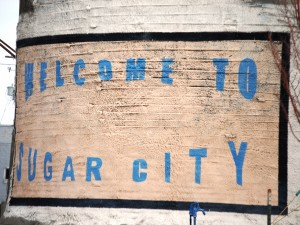Welcome to Sugar City on the silo