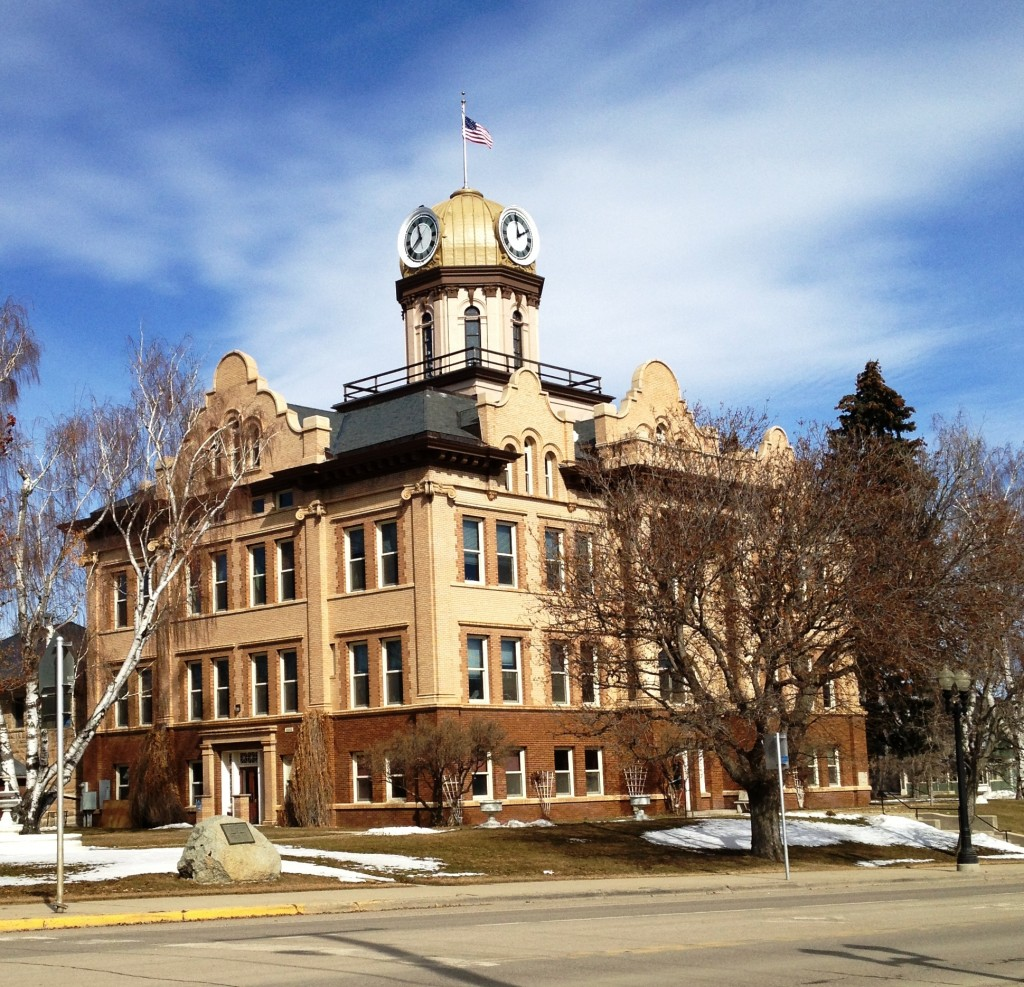 Fergus County Courthouse, Lewistown, Montana