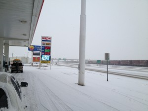 Gas Station in Shelby, MT