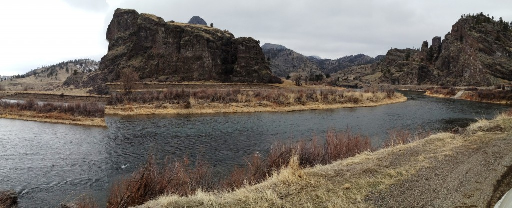 Along the Missouri River in the park - probably still how it may have looked for Lewis and Clark.