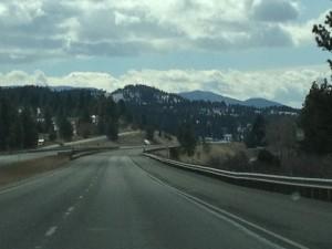 I-15 South towards Helena