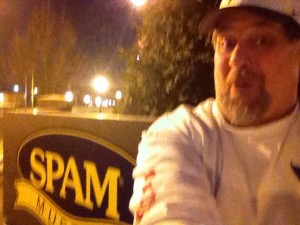 Sumoflam at Spam Museum