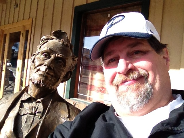 Sumoflam and Lincoln in Jackson Hole