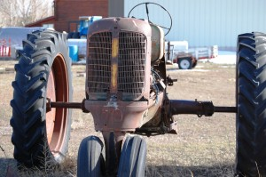 Old tractor in Thornton