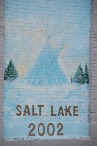 Salt Lake Mural near Tent and Awning Shop - Blackfoot, Idaho