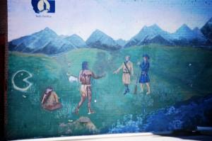Mural in Dillon, Montana