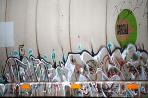 Train Graffiti