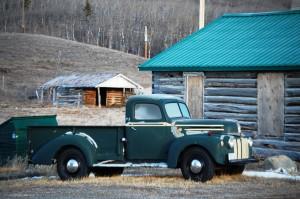 Old truck - Babb, Montana