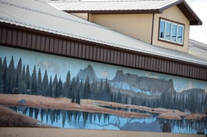 Another nice mural in Browning, Montana