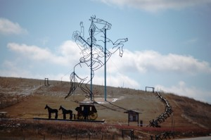 Enchanted Highway Stop #6 - Teddy Rides Again