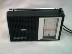 Transistor Radio - similar to what I used to listen to stations