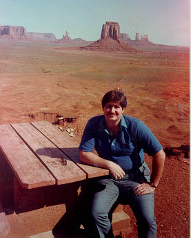 David in Monument Valley