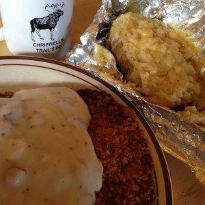 Chicken Fried Steak at Chriswell's