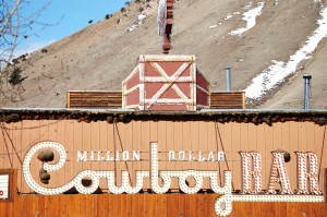 Million Dollar Cowboy Bar - Jackson, Wyoming