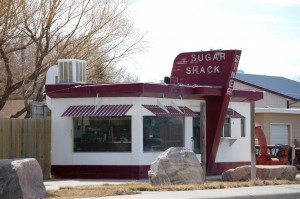 Old Diner, Chester, Montana