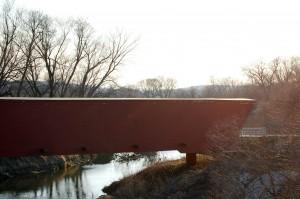 Holliwell Covered Bridge, Scott, Iowa