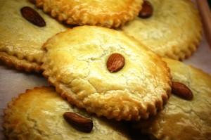Almond Pies at Jaarsma Bakery