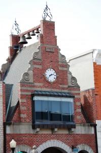 Small Clock Tower in Pella