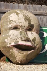 Yucky Mask - Antique Archaeology