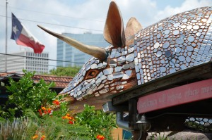 Giant Armadillo at Armadillo Palace