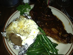 ....this steak is AWESOME