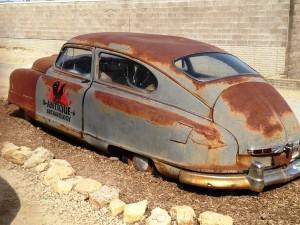 Antique Archaeology's famous old car