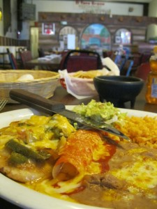 El Toro Bravo lunch - yummy