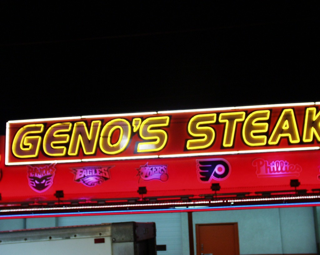 Geno's Steaks - Philadelphia