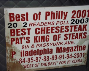 Best of Philly - Pat's King of Steaks