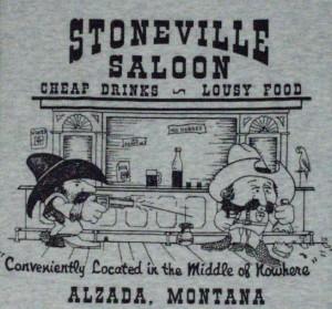 Stoneville Saloon T-shirt