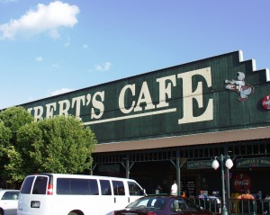 Lambert's Cafe - The Home of Throwed Rolls - in Ozark, Missouri