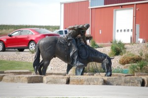 Horse Sculpture - Buffalo, Wyoming