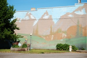 Wall Mural in Arco, ID